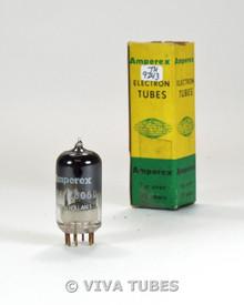 NIB Amperex Holland 7714/Z805U Silver Plate Get Gold Pins Vacuum Tube