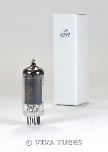 Illegible USA 7543 [Hi-Fi 6AU6 EF94] Black Plate [] Get Vacuum Tube 85%