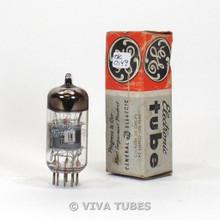 NOS NIB Amperex France 6678/6U8A Gray Plate O Get Vacuum Tube 100+%