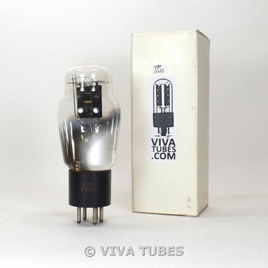 GE USA Type 46 Black Plate Crimped D Foil Get Vacuum Tube 93%