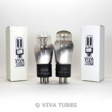Tests NOS Matched Pair RCA Cunningham US Type 71A ENGRAVED Vacuum Tubes