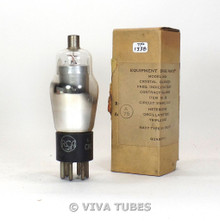 RCA USA Type USN-CKR-77 Silver Plate D Foil Get Vacuum Tube 87%