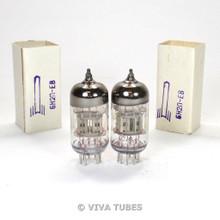 NOS NIB Matched Trio Voskhod Rocket 6N2P-EV / EB SILVER SHIELD Vacuum Tubes