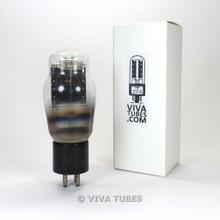 Tests NOS Sylvania USA 2A3 Black Mono Single Plate Spring Filament S-Rods Tube