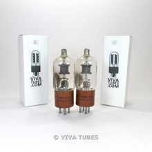 Tests NOS Date Matched Pair Tung-Sol USA JAN-CTL-3B24WA Grey Plate Vacuum Tubes