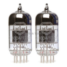 New Gain Matched Pair (2) Mullard Reissue CV4004 / 12AX7 Low Noise Vacuum Tubes