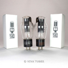 Tests NOS Matched Pair RCA USA 5Z3 2 Black Plate Top [] Get Vacuum Tubes 100%