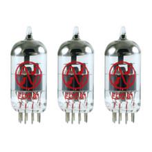 Brand New In Box Gain Matched Trio (3) JJ 12AT7 / ECC81 Vacuum Tubes