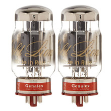 Brand New Matched Pair (2) Genalex Gold Lion Reissue KT88 / 6550 Vacuum Tubes