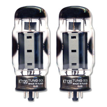 Brand New In Box Matched Pair (2) Tung-Sol Reissue KT120 / KT-120 Vacuum Tubes