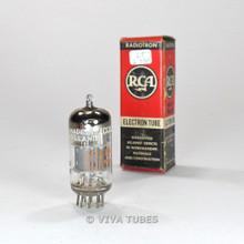 True NOS NIB Amperex Holland ECC85/6AQ8 Grey Plate Top O Get Vacuum Tube 100%+