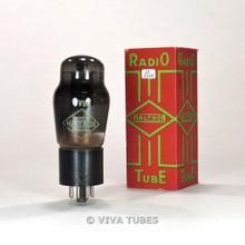 True NOS NIB Brimar England 6V6G Black Plate Smoked Vacuum Tube 100+%