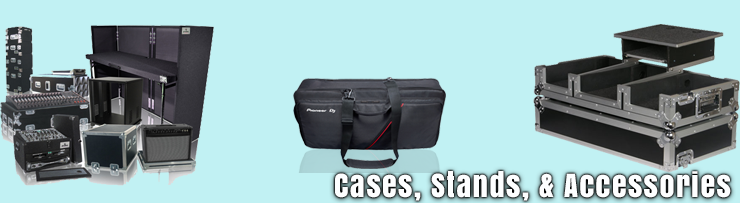 Cases, Stand, and Accessories available at GearclubDirect in Chicago