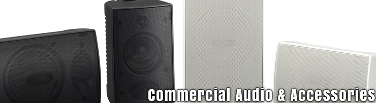 Commercial Audio and Accessories Available at GearclubDirect in Chicago