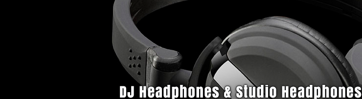 Studio and Dj Headphones available at GearclubDirect in Chicago
