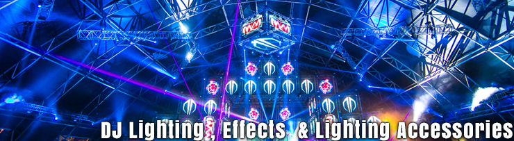 Lighting and DJ lighting available at GearclubDirect in Chicago
