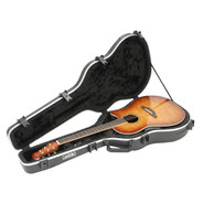SKB 1SKB-16 Acoustic Shallow Roundback Shaped Hardshell Case