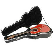SKB 1SKB-17 Acoustic Deep Roundback Shaped Hardhsell Case