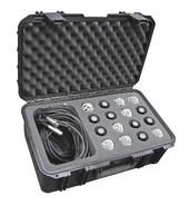 SKB 3I-2011-MC16 Injection Molded Case for 16 Mics