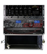 Gemini CDX-2250 Pack with Rack Case
