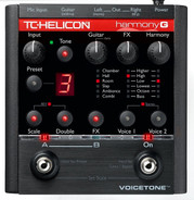 TC Helicon Voicetone Harmony G Vocal Effects Pedal for Guitarists