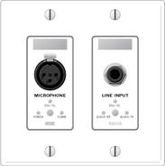 Rane RAD18W Mic Input / Line Output - White