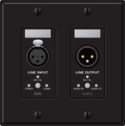 Rane RAD23B Line Input / Line Output - Black