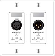 Rane RAD23W Line Input / Line Output - White