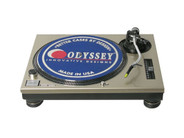 Odyssey AFPSL1200CHA Custom Faceplate for Technics SL1200 Turntable (Champagne)