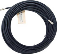 Sennheiser RG213-100 Low Loss RF Antenna Cable, 100 ft. with BNC