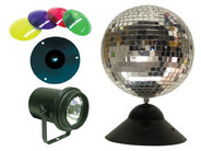 American DJ MB8 Combo Mirror Ball Package, 8 Inch
