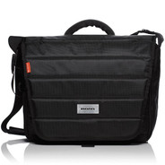 Mono Fader DJ Bag for Turntablists - Jet Black