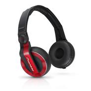 Pioneer HDJ-500-R Ear-cup Binaural Headphones - Red