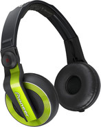Pioneer HDJ-500-G Ear-cup Binaural Headphones - Green