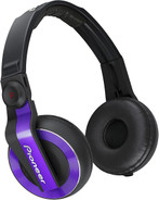 Pioneer HDJ-500-V Ear-cup Binaural Headphones - Violet