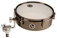 Latin Percussion Drum Set Timbales - Black Nickel