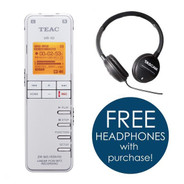 Teac VR-10 Portable Digital Audio Recorder (WHITE)