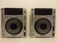 Pioneer CDJ-850 Single CD Player (Silver) (Pair)