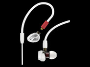 Pioneer DJE-2000-W Professional DJ In-Ear Headphones