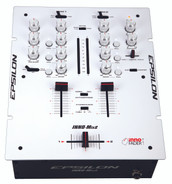 Epsilon Inno-Mix2 2-channel DJ Battle Mixer (White)