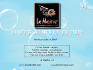 Le Maitre Bubble Fluid