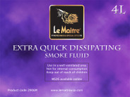 Le Maitre Extra Quick Dissipating Smoke Fluid 4L