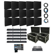 American DJ AV5X3 Video Wall Package