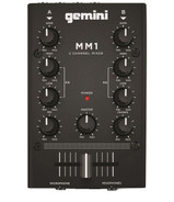 Gemini MM-1 Analog Mini DJ Mixer