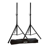 Gemini DJ ST-Pack Dual Speaker Stands With Carrying Case