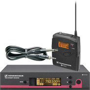 Sennheiser ew 172 G3 Wireless Instrument System with Ci 1 Guitar Cable - G (566-608 MHz)