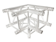 Trusst 290mm (12in) Truss, 3-Way, 90° Corner (includes 1 set of connectors)