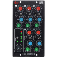 DBX 555 5-channel parametric equalizer