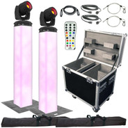 Chauvet DJ Intimidator Spot 355Z IRC & Lighting Towers Duo Package