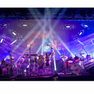 (2) Chauvet DJ Intimidator Spot 355 IRC Moving Heads with 5' Truss Lighting Towers & Intimidator Road Case S35X Package